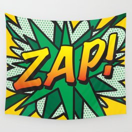 Comic Book ZAP! Wall Tapestry