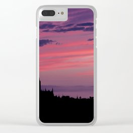 Cathedral of Segovia at Sunset Clear iPhone Case
