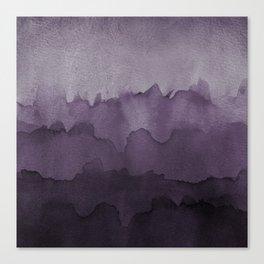 Amethyst Wash Canvas Print