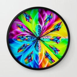 Abstract Perfection Wall Clock