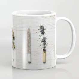 Evolution of weed Coffee Mug