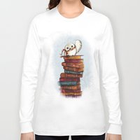 hedwig Long Sleeve T-shirts featuring Hedwig by Sam Skyler