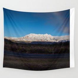 Mt Ruapehu Wall Tapestry