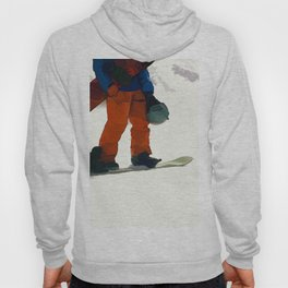 Ready to Ride! - Snowboarder Hoody