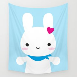 Super Cute Kawaii Bunny Wall Tapestry