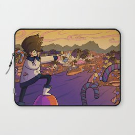 Adventure on the Candy Planet Laptop Sleeve