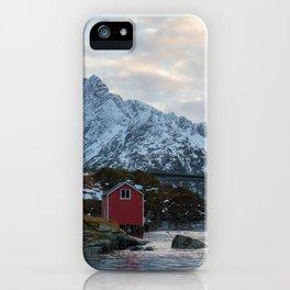 Lofoten winter iPhone Case