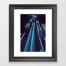 75(glow)2 Framed Art Print