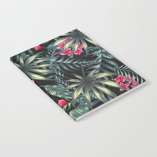 Tropical leave pattern 9.2 Notebook