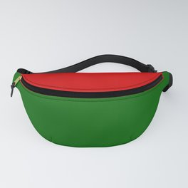 Christmas Red & Green Fanny Pack