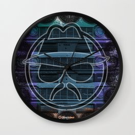 Low Rider Fan Wall Clock