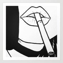Drag Art Print