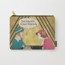Tea and Patriarchy Carry-All Pouch