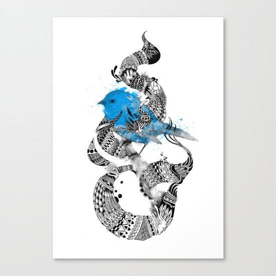 Tweet Your Art. Canvas Print