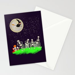 A Halloween Treat  Stationery Cards