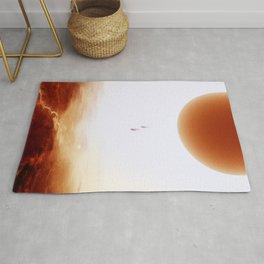 Mars Diving Rug
