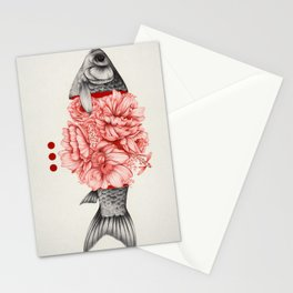 To Bloom Not Bleed III Stationery Cards