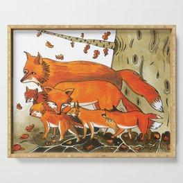 Noah's Ark - Fox Serving Tray