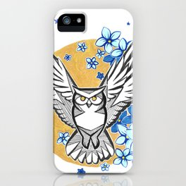 Oracle Owl iPhone Case