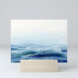 Water Study 6 in Gouache Mini Art Print
