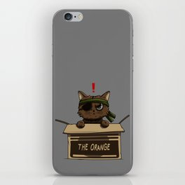 Meow Gear Solid iPhone Skin