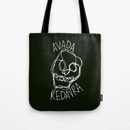 Avada Kedavra Tote Bag