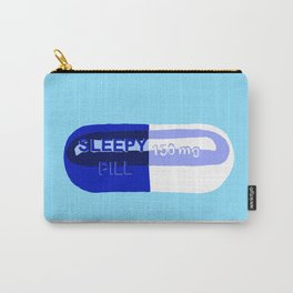 Sleepy Pill Carry-All Pouch