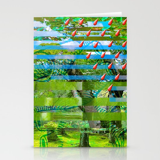 Landscape of My Heart (segment 2) Stationery Cards
