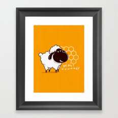 Catan You Give Me Wood? Framed Art Print