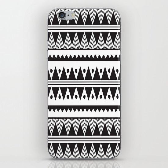 African Tribal Pattern No. 2 iPhone Skin