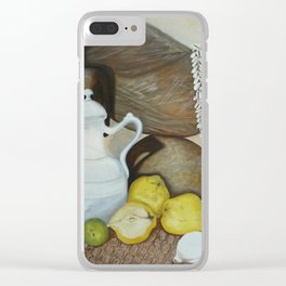 Coffee pot Clear iPhone Case