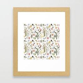 Collectors Garden Sketchbook Framed Art Print