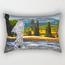 Fresh Water  in Villa d'Este Rectangular Pillow