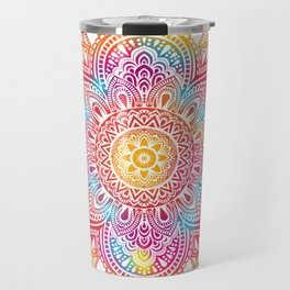 Madala Ombre Colorful Travel Mug
