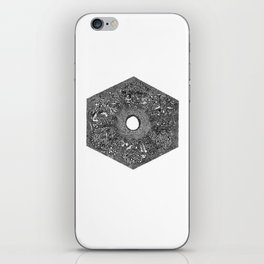 Souls of Lost Faces iPhone Skin