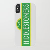 sesame street iPhone & iPod Cases featuring Hiddlestoners Sesame Street by Rowena Leavy