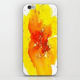 Yellow Poppy iPhone Skin