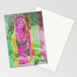 Woman N76 Stationery Cards