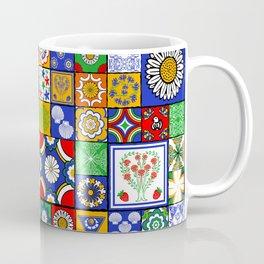A Spanish tiles pattern Coffee Mug