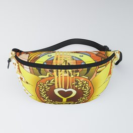 Sailor Mew Guitar #25 - Sailor Venus & Mew Pudding Fanny Pack