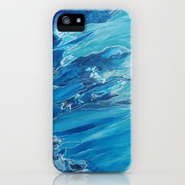 Two Worlds Collide iPhone Case