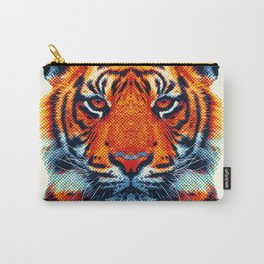 Tiger - Colorful Animals Carry-All Pouch