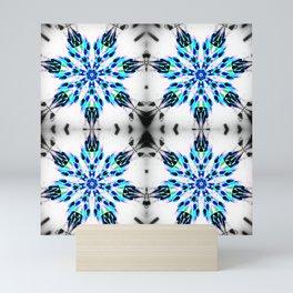 Enchanted Frozen Snowflakes Mini Art Print