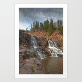 Gooseberry Falls Art Print