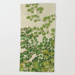 Maidenhair Ferns Beach Towel