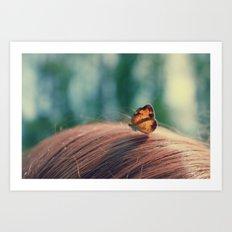butterflyyyy Art Print