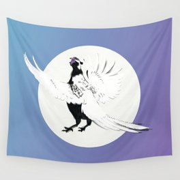 Pheasants Start to Call Wall Tapestry