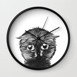 Little Kitten Wall Clock