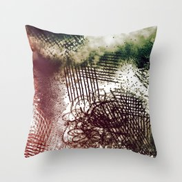 Eyes Still Clouded Throw Pillow