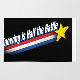 Half the Battle Rug